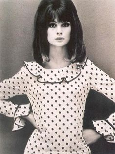 Jean Shrimpton by John French, 1964
