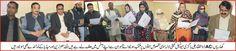 ریٹرننگ آفیسر میونسپل کمیٹی لالہ موسیٰ A.C کھاریاں ذوالفقار علی باگڑی نے مخصوص نشستوں پر کامیاب ہونے والے ممبران سے حلف لیا