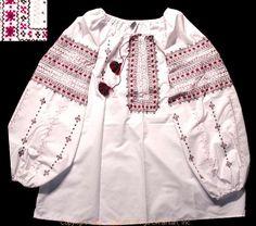 Handmade Ukrainian hand embroidered women's blouse #WS10-4354 from Western Ukraine, sold on AllThingsUkrainian.com