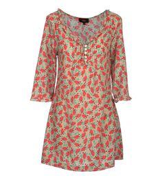 Vestido estampado de la Colección Primavera Verano 2012 de HAKEI.