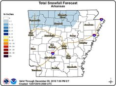 says For Little Rock & Central Arkansas Now Thru Tonight: Mostly Cloudy. Widely Scattered Showers. A Few Flurries Possible With Little Or No Accumulation Expected. Lo 32. Thursday Thru Saturday: Sunny Mild Days & Clear Cold Nights. Hi Thu 41 & Lo 21. Hi Fri 38 & Lo 23. Hi Sat 44. Saturday Night Thru Sunday Night: Warmer With Scattered Showers. Lo's Near 36. Hi 51. Monday Thru Tuesday: Partly Cloudy. Hi Mon 52 & Lo 34. Hi Tue 54. - For Updates: http://www.weather4ar.org/ - DCP2