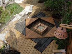 ガーデン囲炉裏: 木村博明 株式会社木村グリーンガーデナーが手掛けた庭です。