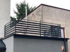 Pogoda nam dziś nie sprzyjała ale daliśmy radę💪🏼💪🏼 #Balustrada palisadowa, #RAL7016 Blinds, Curtains, Home Decor, Decoration Home, Room Decor, Shades Blinds, Blind, Draping, Home Interior Design