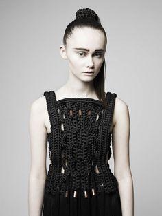 Eleanor Amoroso F/W 2012  I would LOVE a sweater by Eleanor.....love her name too!!