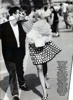 'Venetian Holiday' from……….Vogue December 1990 feat Christy Turlington