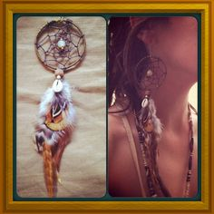 DreaMCatcher earring BeautiFUL magic full by ArtOfGoddess on Etsy, ₪175.00