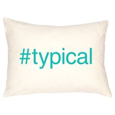 #typical Pillow in Teal by Dormify