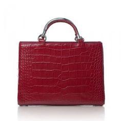 Riki Rosetta Red Croco on bagservant.co.uk, £258. Based in New York