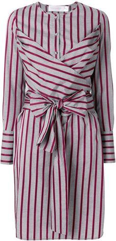 Victoria Victoria Beckham belted shirt dress