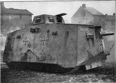 Sturmpanzerwagen A.7.V. (Abteilung 7 Verkehrswesen) « Wota… | Flickr