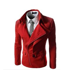 e31da2b8bd3 Click to Buy    Men s Winter Fashion Casual Coat Slim Fit Korean Jacket.