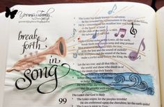 Diana Nguyen, Bible, art, journaling, illustrated faith