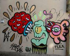 SARCE et FLEX et AULP. Butte aux Cailles Paris