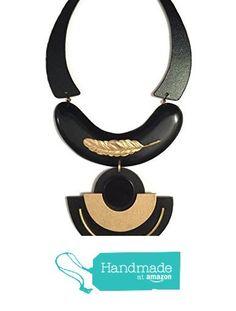 Art Deco Necklace from Melina Sternberg http://www.amazon.com/dp/B015YZUZ3W/ref=hnd_sw_r_pi_dp_Apspwb0S36MKJ #handmadeatamazon