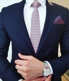 mens suits Combinations -- Click VISIT link above to see Mens Fashion Suits, Mens Suits, Navy Suits, Style Gentleman, Suits You Sir, Style Costume Homme, Suit Combinations, Grey Suit Men, Men Wear