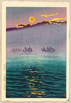 Morning Waves, 1956 - Shiro Kasamatsu (1898-1992)