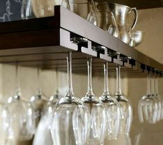 Wine Glass rack.