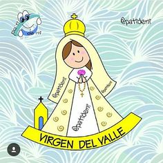 Miguel Angel, Blessed Virgin Mary, Disney Characters, Fictional Characters, Crafts For Kids, Aurora Sleeping Beauty, Spirituality, Children, Painting