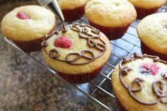 Food Lust People Love: Nutella-filled Raspberry Muffins for #MuffinMonday