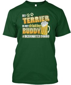Discover My Pug Is My Drinking Buddy T-Shirt from Designated Doggo, a custom product made just for you by Teespring. - My Pug Is My Drinking Buddy Hashtag Designated. Whippet Puppies, Collie Puppies, Airedale Terrier, Doberman Pinscher Blue, My Husky, Bearded Collie, Drinking Buddies, English Mastiff, Custom T Shirt Printing