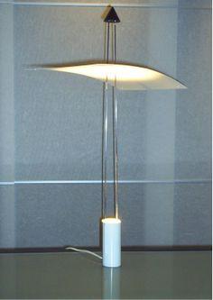 Stalen halogeen tafellamp