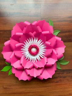 Giant Paper Flower Templates | 3D Large Paper Flower Stencil Pattern | DIY Handmade Paper Flowers | Paper Flower Decor and Backdrop for Weddings and Events Easy Paper Flowers, Paper Flowers Craft, Paper Flower Wall, Paper Flower Backdrop, Giant Paper Flowers, Paper Crafts For Kids, Origami Paper Crane, Cute Origami, Spring Crafts For Kids