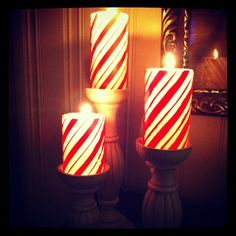 Love these candles for Christmas! #PartyLite