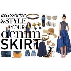 Denim Dressing by stuff4uand4u on Polyvore featuring Gracia, Whistles, Yves Saint Laurent, Balmain, Ashley Stewart, Ava & Aiden, Karl Lagerfeld, maurices, Dsquared2 and Chanel. Visit Stuff4uand4u for an incredible selection of vintage costume jewelry including Givenchy and More!