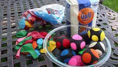 Maak van ballonnen heel goedkoop een goedwerkende stressbal(HANDLEIDING)