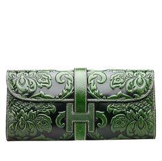 99.50$  Watch now - http://ali77j.worldwells.pw/go.php?t=32616543907 - Famous brand top quality Cow Leather women bag  Fashion Clutch Wallet Retro shoulder handbags Chain Messenger Bag 99.50$