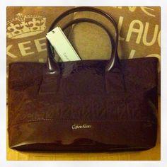New CK bag! Love it!