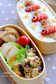 Fishy bento