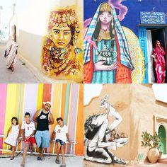 In #Erriadh auf #Djerba dürfen 150 Streetartkünstler aus 30 Ländern ein ganzes Dorf bemalen. Mehr Bilder und Infos gibt es hier: http://www.travelbook.de/welt/Erriadh-Djerbahood-Das-bunteste-Dorf-der-Welt-auf-Djerba-513020.html