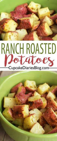 You haven't met an easier side dish than Original Ranch Roasted Potatoes. Toss all ingredients into a bag and give it a good shake!