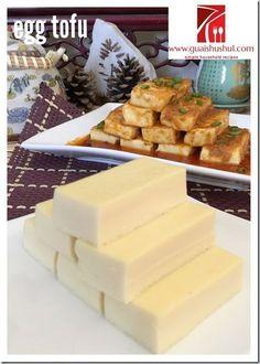 Homemade Egg Tofu (家居自制蛋豆腐)    #guaishushu #kenneth_goh    #egg_tofu