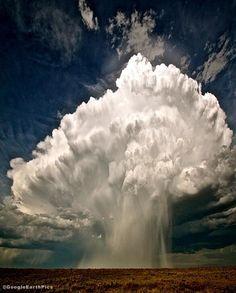 Hail Dump over Nebraska, USA