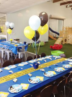 Police themed party