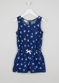 Capable Age 9-12 Months Playsuit From Matalan Baby & Toddler Clothing Clothing, Shoes & Accessories
