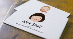 Custom Illustrated Personalized Business Cards (Digital File Only) - Graphic Templates Search Engine Business Card Maker, Artist Business Cards, Unique Business Cards, Personalized Business Cards, Creative Business, Stationery Design, Branding Design, Identity Branding, Visual Identity