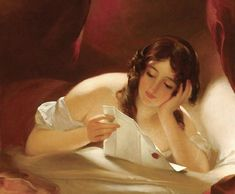 The Love Letter by Thomas Sully, 1834