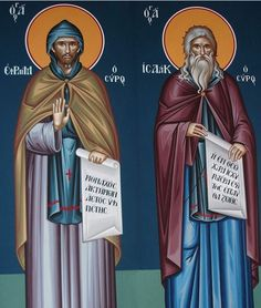 Sts. Ephraim and Isaac the Syrians