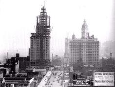 North Michigan Ave.,1924. Chicago