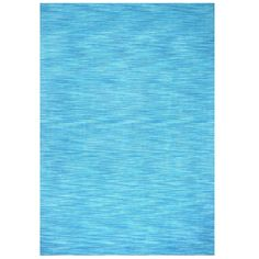 Hand-tufted Fusion Aqua Wool Rug (4' x 6') (Hand Tufted Fusion Aqua Wool Rug 4' x 6'), Blue, Size 4' x 6'