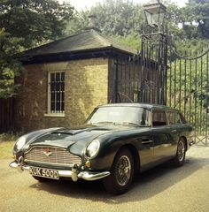 1965 Aston Martin DB5 Vantage Shooting Brake by Harold Radford I'd have one of these. Unfortunately don't have twenty foot gates in front of my English Stately home. Ric Tredwin