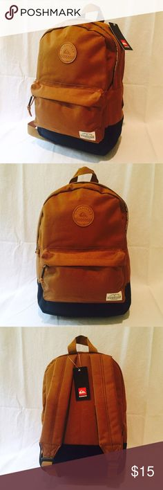 Quicksilver mini backpack Great children's bag or overnight bag. Brand new with tags Quiksilver Accessories Bags