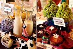 country themed tables
