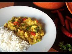 Frango ao curry com castanhas - Receitas - Receitas GNT