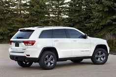 white jeep grand cherokee with all black tires - Google Search