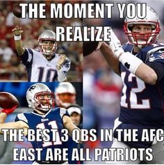Hell yeah!! Wish they could ALL somehow stay Patriots, cuz we love all 3! Tom, Jimmy G & Jacoby!