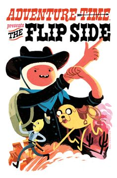 ADVENTURE TIME: THE FLIP SIDE 5 variant cover by Kali Ciesemier
